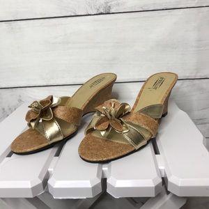 Seychelles Boca cork wedge sandals 7